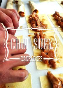 Canelones ChopSuey de Pollo y Verduras