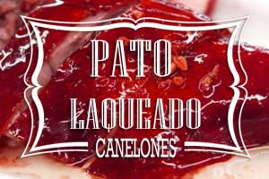 Pastafresca. canelones de Pato Laqueado