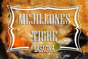 Lasagna de Mejillones Tigre. Pastafresca