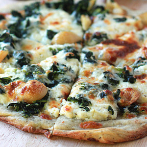 Pizza Ricotta y Espinaca