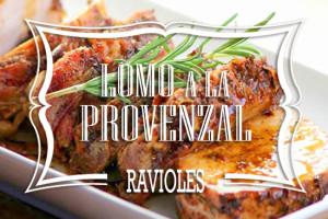 Ravioles de Lomo a la Provenzal