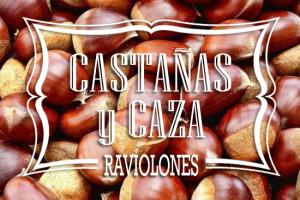 Raviolones de Castañas y Caza
