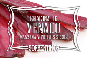 Sorrentinos de Chacina de Venado Manzana y Frutos Secos