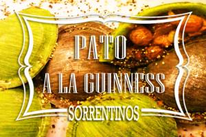 Sorrentinos de Pato a la Guinness