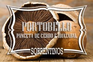 Sorrentinos de Portobello Panceta de cerdo e Idiazabal