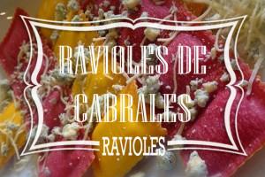 Ravioles de Cabrales Pastafresca