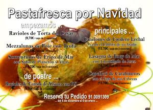 Flyer Pastafresca Navidad